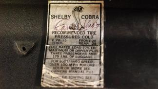 shelby GT500KR motor