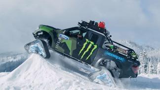 Ford Raptor Trax: V8 de 6,2 litros y 650 CV. Ruedas de oruga