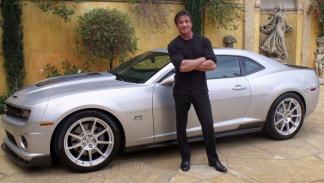 Los coches de Sylvester Stallone: Chevrolet Camaro SS