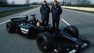 Los monoplazas de Fernando Alonso en la F1: Minardi PS01