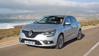 Prueba: nuevo Renault Mégane 2016 morro