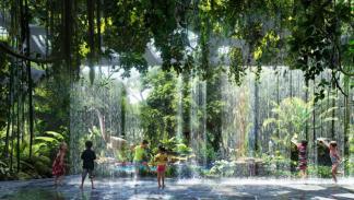El primer hotel del mundo con selva privada