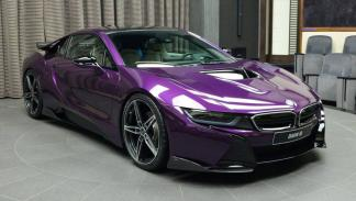 BMW i8 Twilight Purple
