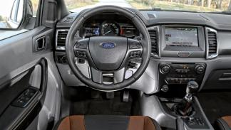 Ford Ranger Wildtrack salpicadero