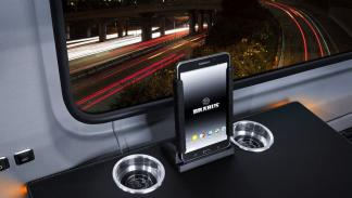 Brabus VIP Conference Lounge tablet
