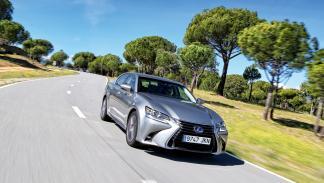 Delantera del Lexus GS 300h