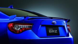 Subaru BRZ GT detalle alerón