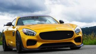 Dime Racing AMG GT frontal