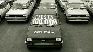 40 aniversario Ford Almussafes primer modelo