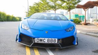Lamborghini Huracan DMC LP1088 E-GT Spyder frontal