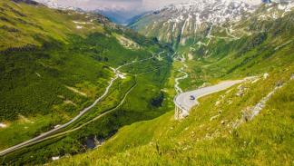 Furka Pass, Suiza.