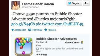 Tuit Fátima Báñez