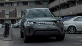 Land Rover Discovery Vision Concept cameo TV