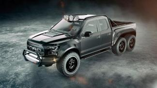 Hennessey VelociRaptor 6x6 pick-up camion brutal 4x4 todo terreno Ford F-150