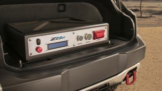 Chevrolet Colorado ZH2 FCEV detalle carga