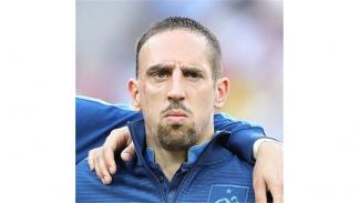 El francés Franck Ribéry, que actualmente juega en el Bayern de Munich. Foto: Cr