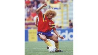 Carlos Valderrama, uno de los futbolistas colombianos más emblemáticos. Foto: Cr