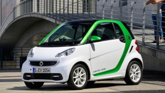 Smart ForTwo Electric Drive frontal
