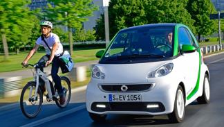 Smart ForTwo Electric Drive dinamica