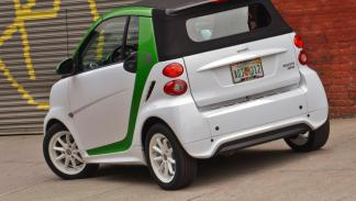 Smart ForTwo Electric Drive trasera