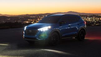 Hyundai Tucson Night delantera