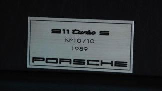 Porsche 930 Turbo S robado datos