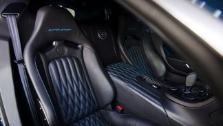 Bugatti Veyron Super Sport Blue Carbon asientos