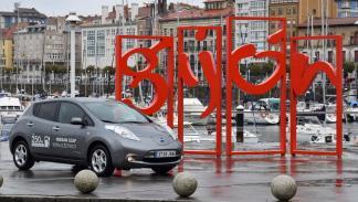 Nissan Zero Emission Tour gijon