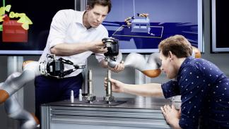 robot inteligente volkswagen construccion