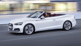 Audi A5 Cabrio 2017 lateral