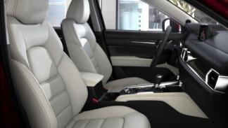Mazda CX-5 2018 asientos delanteros