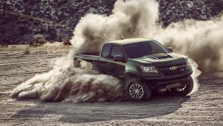 Chevrolet Colorado ZR2 dinamica 2