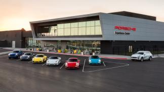Porsche Experience Center LA instalaciones
