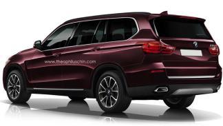 BMW X7 render trasera