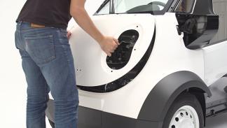 coche 3D de honda capó