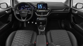 Ford Fiesta Vignale 2017 interior