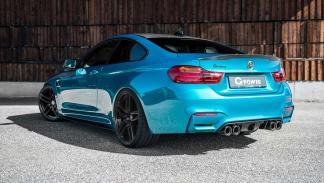 BMW M4 Coupé modificado G-Power zaga