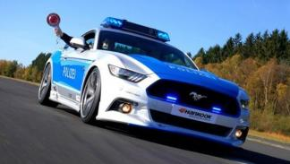 Ford Mustang Policía Alemania