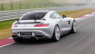 Mercedes-AMG GT Luethen Motorsport zaga