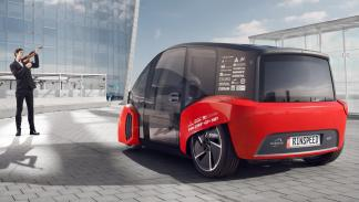 Rinspeed Oasis Concept trasera