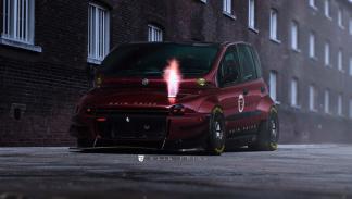 Fiat Multipla by Rain Prisk