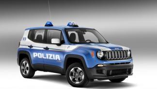 Policía Italiana vehículos