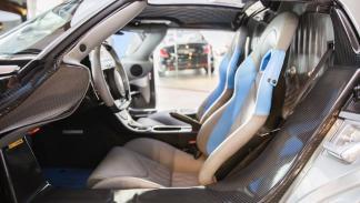 Koenigsegg Agera asientos