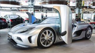 Koenigsegg Agera puertas