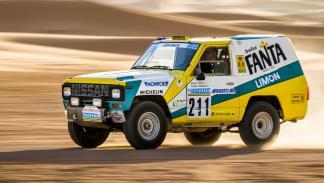 Nissan Patrol Fanta Limón París Dakar 1987 movimiento