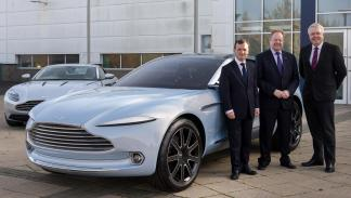 Aston Martin DBX fabrica