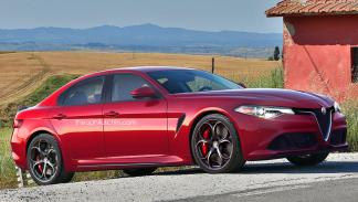 Alfa Romeo Alfetta lateral