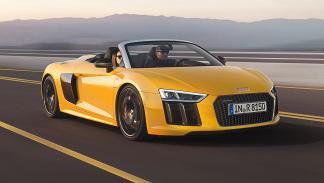 Audi R8 Spyder. Finales de 2016. V10 atmosférico de 540 CV y 540 Nm de par máxim