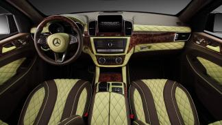 Mercedes GLE Guard Inferno Package interior
