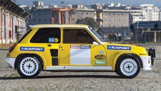 Renault 5 Turbo Grupo B perfil
